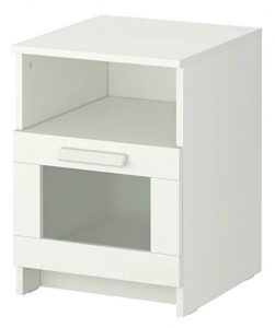White Bedside Table - IKEA UAE