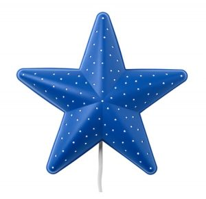 Blue Star Shape Wall Lamp - IKEA UAE