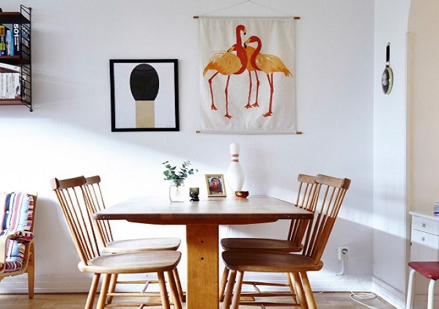 Wooden Furniture Dining Table - IKEA UAE