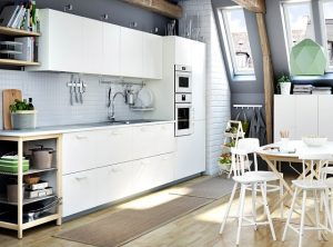 Ideas for inspiring kitchen space with well-matched kitchenware