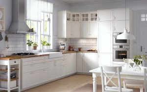 Various cabinet doors that will add sheen & style to your kitchen