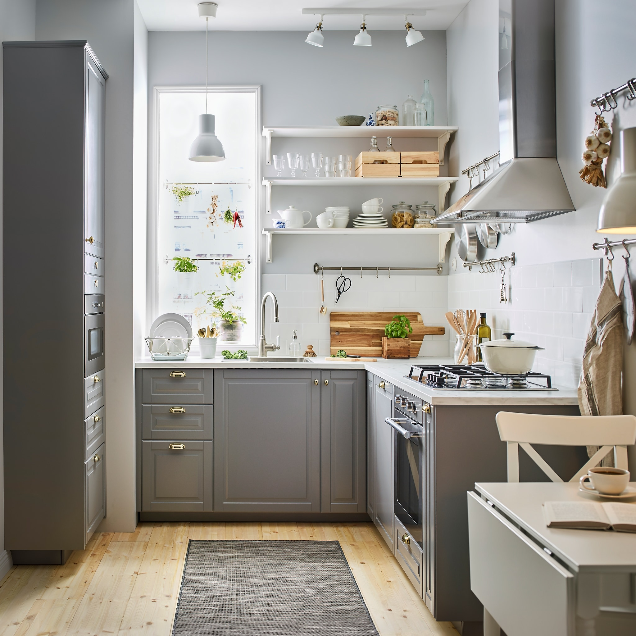7 Smart Tips For The Small But Efficient Kitchen Ikea Uae Blog