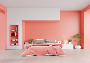 Coral Colored Bedroom - IKEA UAE